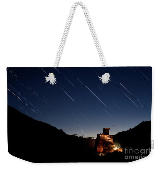 Starry Night Weekender Tote Bag