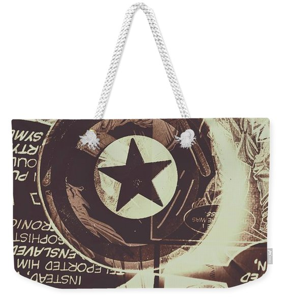 Stars And Shields Weekender Tote Bag