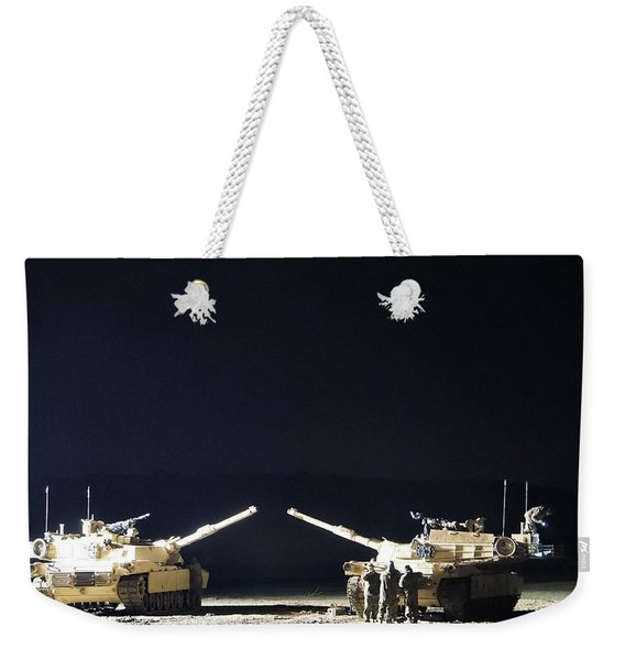 Stars Can Only Shine In Darkness Weekender Tote Bag
