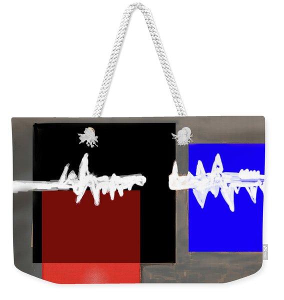 Static Weekender Tote Bag