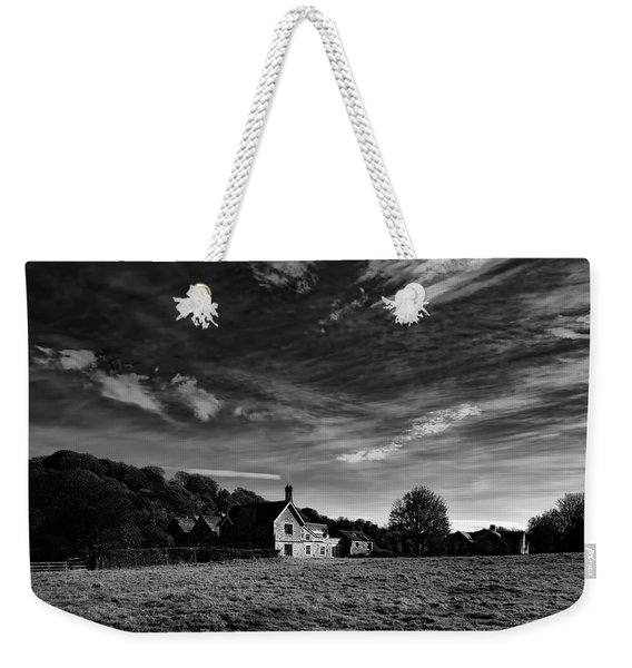 Station Masters Cottage Weekender Tote Bag