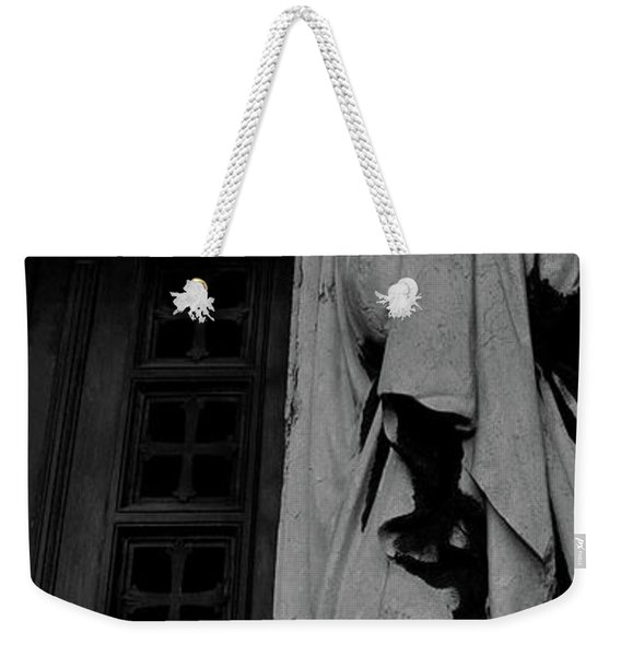 Statue, Pass By Weekender Tote Bag