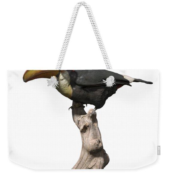Stay Cool Toucan Png Weekender Tote Bag