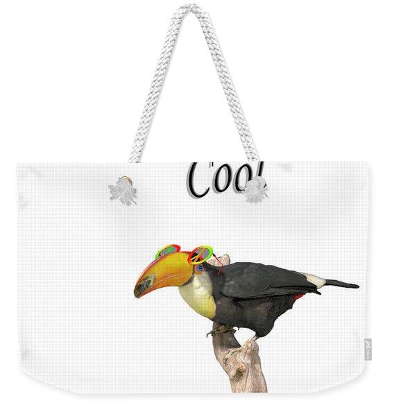 Stay Cool Tucan Weekender Tote Bag