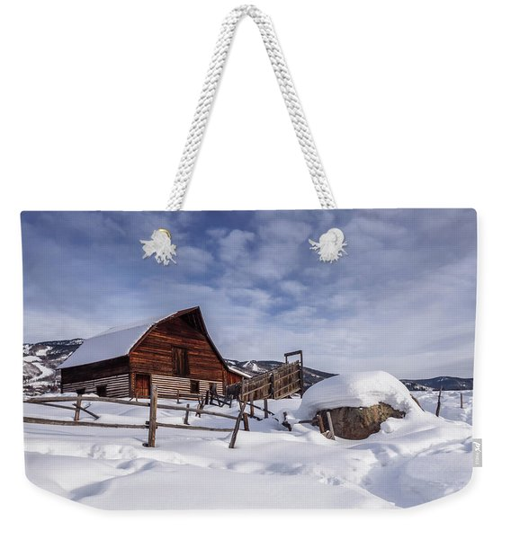Steamboat Springs Weekender Tote Bag