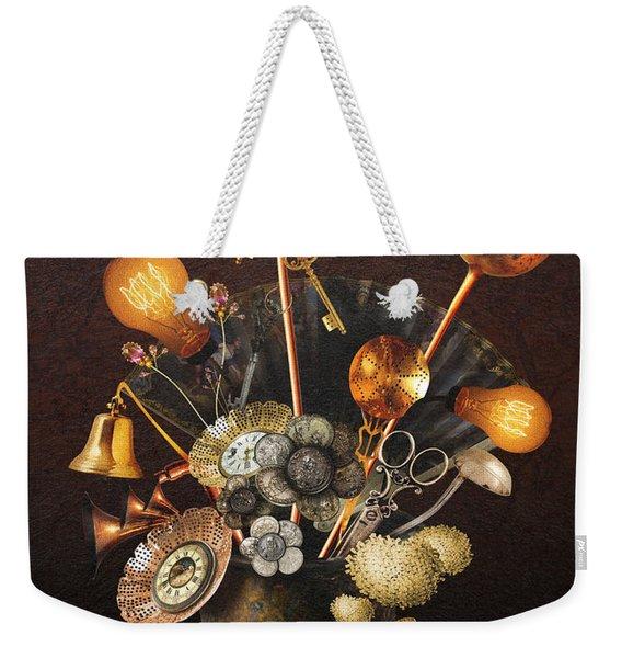 Steampunk Bouquet Weekender Tote Bag