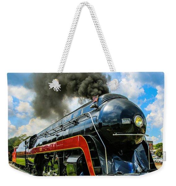 Steam's Up 611 Weekender Tote Bag