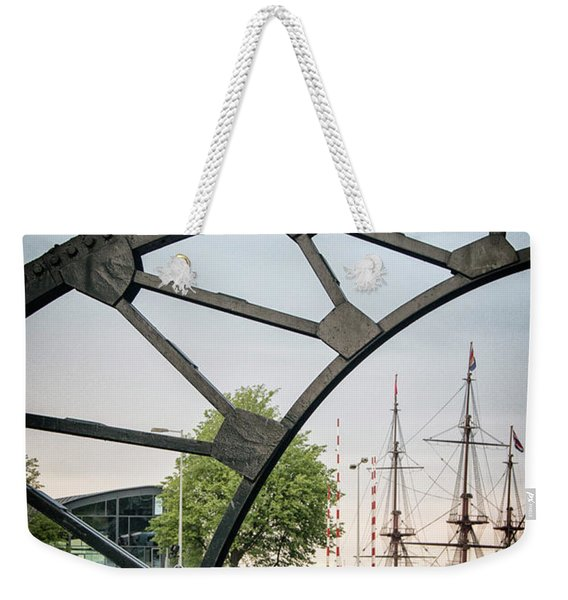 Steel And The Golden Age Weekender Tote Bag