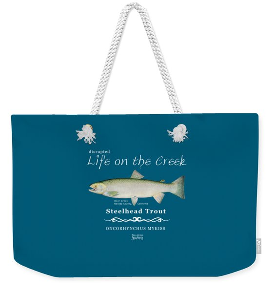 Steelhead Trout Weekender Tote Bag