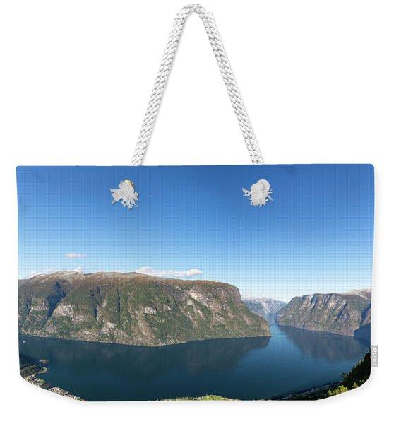 Stegastein, Norway Weekender Tote Bag