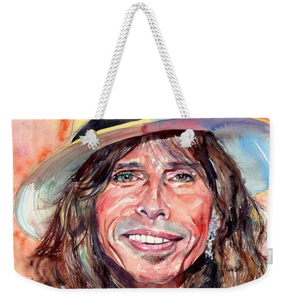 Steven Tyler Portrait Weekender Tote Bag
