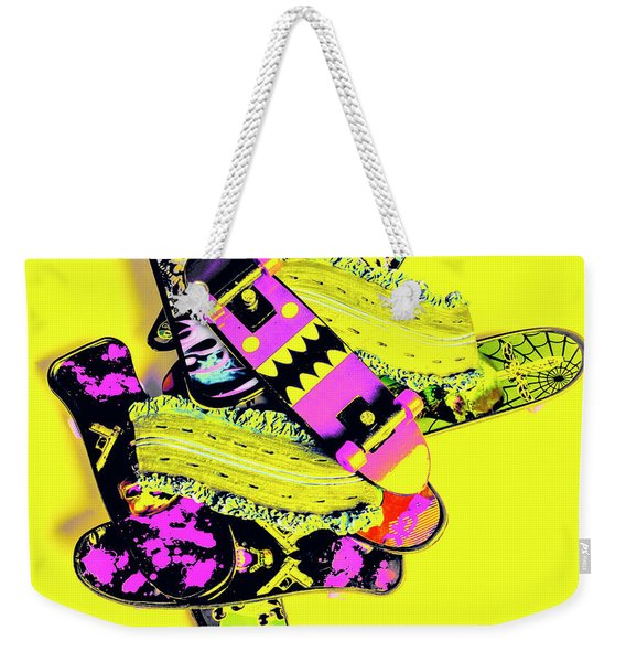 Still Life Street Skate Weekender Tote Bag