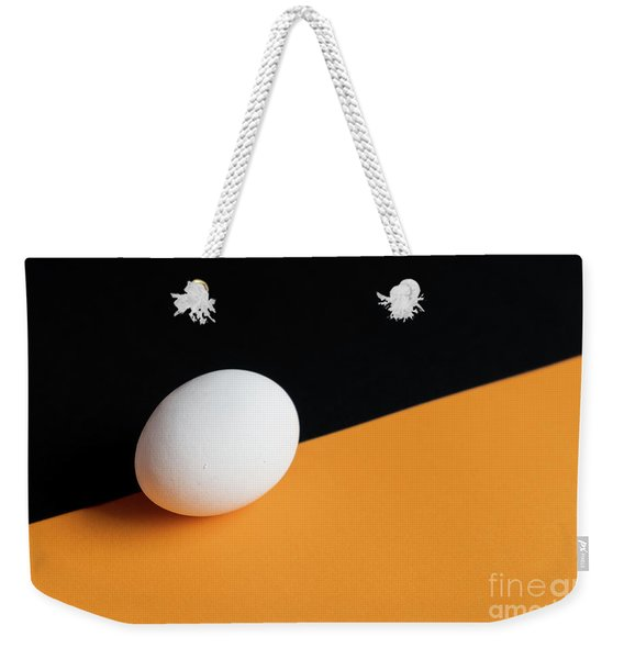 Still Life With Egg Weekender Tote Bag