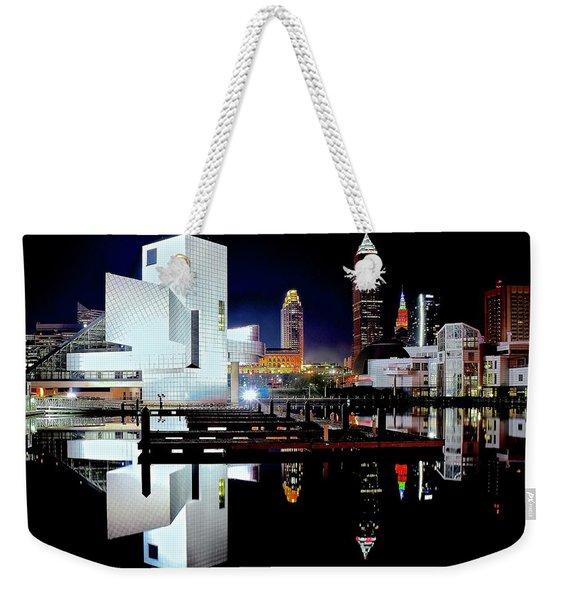 Still Water Night Weekender Tote Bag