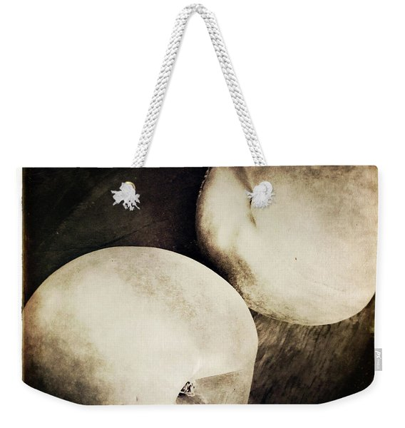 Weekender Tote Bag featuring the photograph Stillnight by Catherine Sobredo