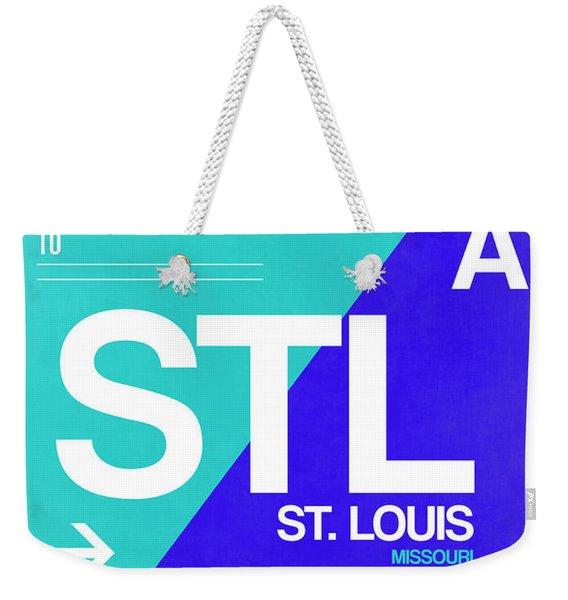 Stl St. Louis Luggage Tag II Weekender Tote Bag