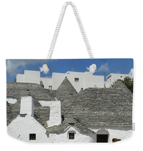 Stone Coned Rooves Of Trulli Houses Weekender Tote Bag