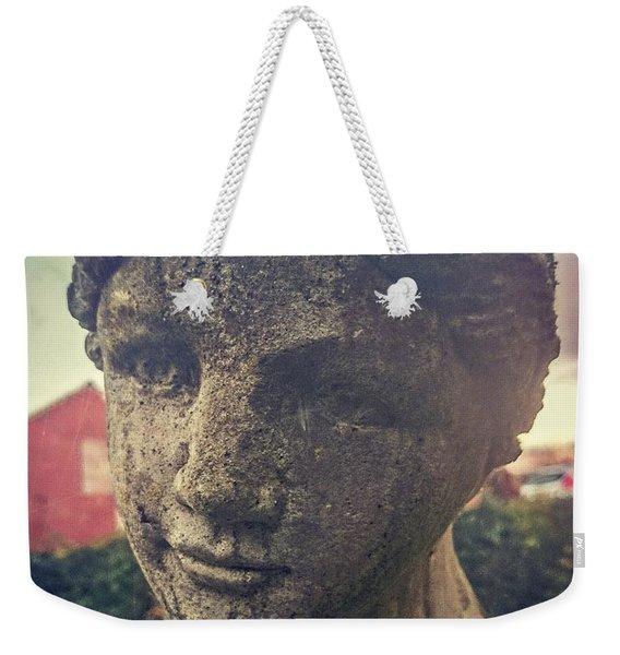 Stone Lady Weekender Tote Bag