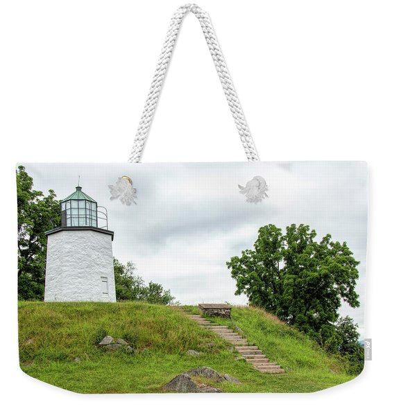 Stony Point Lighthouse Weekender Tote Bag
