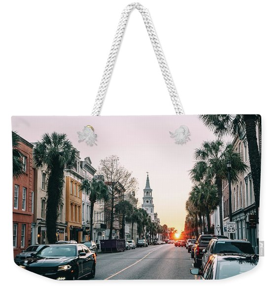 Stopping Time Weekender Tote Bag