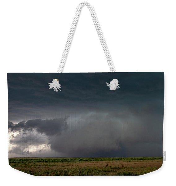 Storm Chasin In Nader Alley 030 Weekender Tote Bag