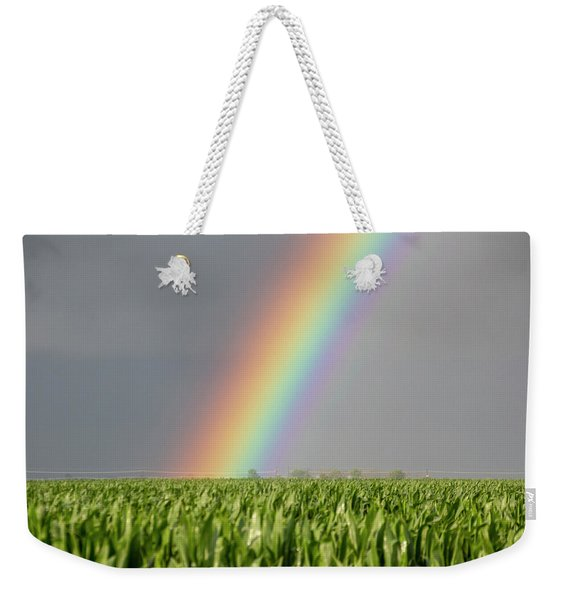 Weekender Tote Bag featuring the photograph Storm Chasing After That Afternoon's Naders 023 by NebraskaSC