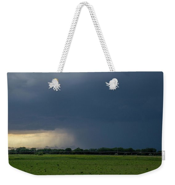Weekender Tote Bag featuring the photograph Storm Chasing West South Central Nebraska 002 by Dale Kaminski