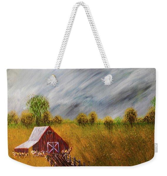 Storm Coming Weekender Tote Bag