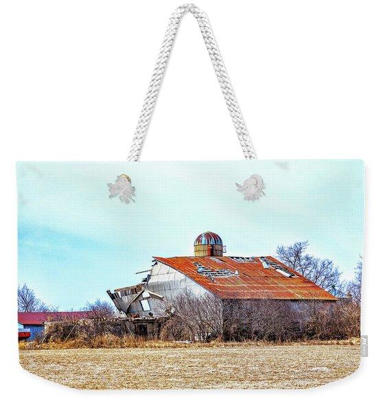 Storm Damage 3 Weekender Tote Bag