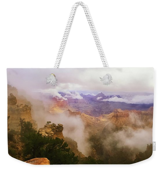 Storm In The Canyon Weekender Tote Bag