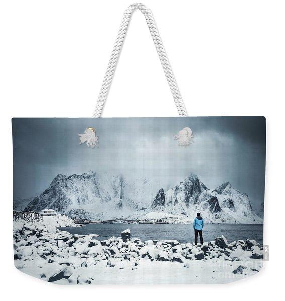 Storm Of Solitude Weekender Tote Bag
