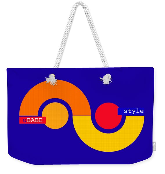 Storm Style Weekender Tote Bag