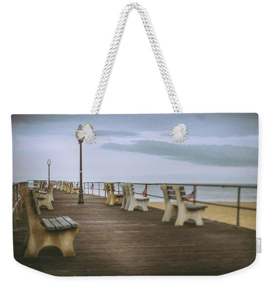 Stormy Boardwalk 2 Weekender Tote Bag