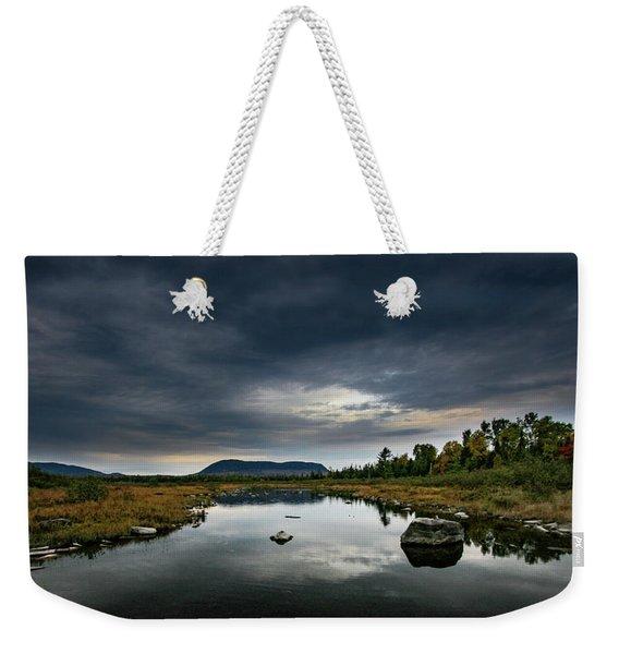 Stormy Day In Maine Weekender Tote Bag