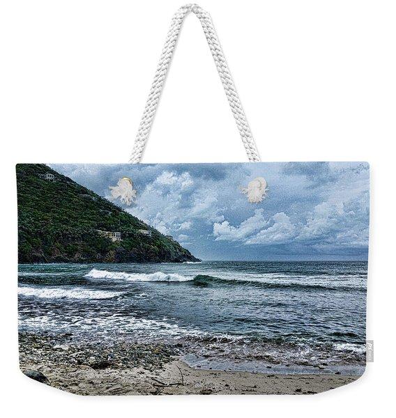 Stormy Shores Weekender Tote Bag