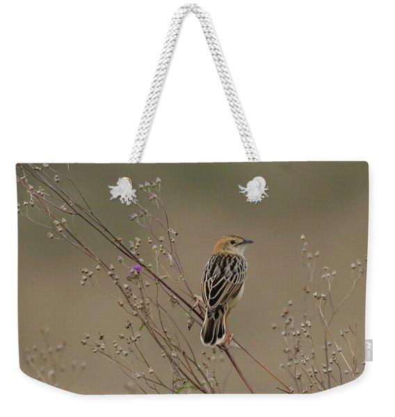 Stout Cisticola Weekender Tote Bag