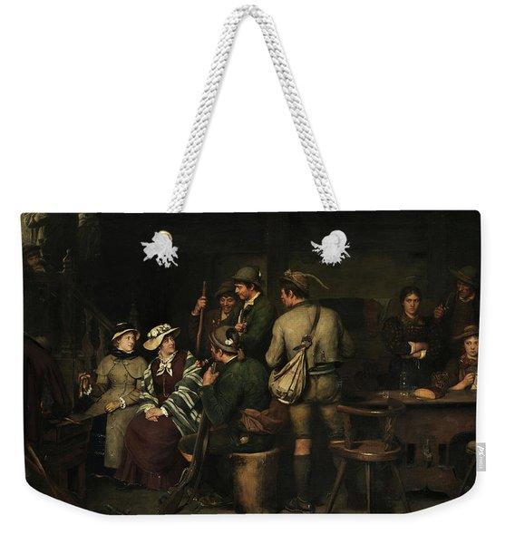 Stranger On The Alm Weekender Tote Bag