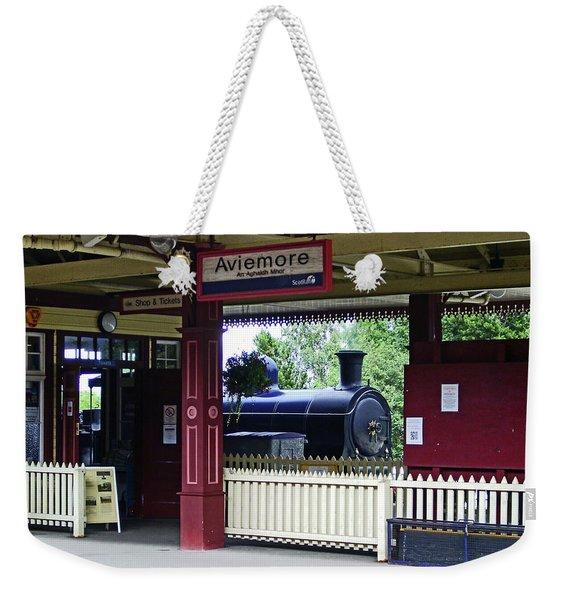 Strathspey Railway. Caladonian Railway 828 Weekender Tote Bag