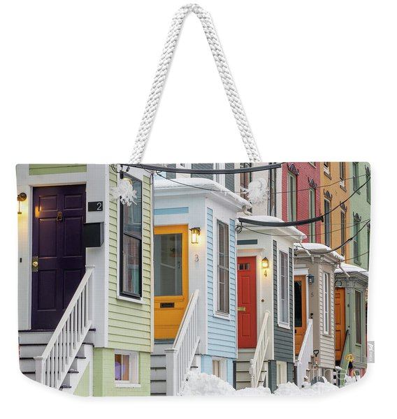Stratton Place Weekender Tote Bag