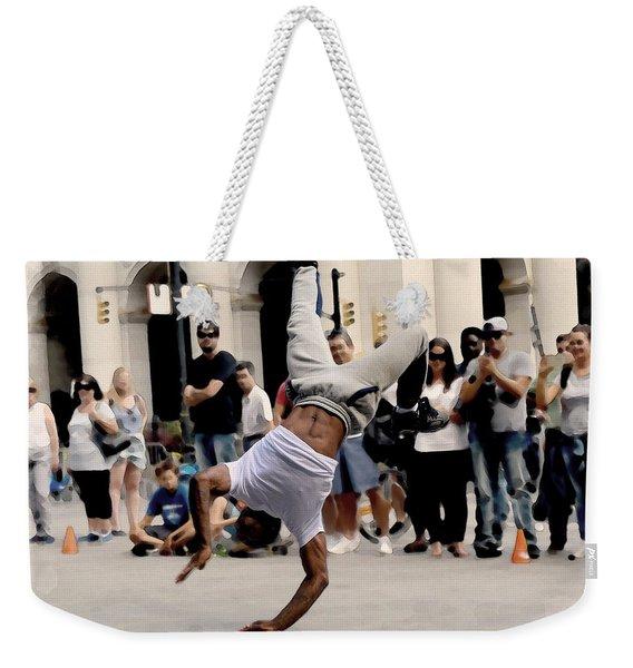 Street Dance. New York City. Weekender Tote Bag