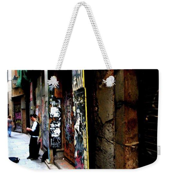 Street, Graffiti  Weekender Tote Bag