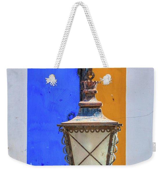Street Lamp Of Obidos Weekender Tote Bag