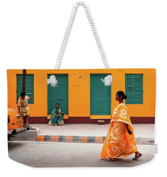 Street Palette Weekender Tote Bag