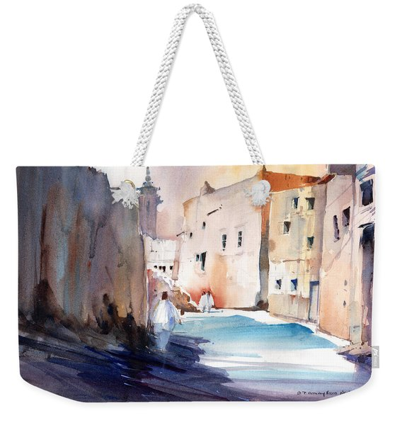 Street Rubble In Riyadh Weekender Tote Bag