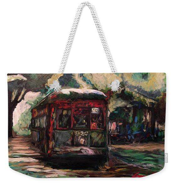 Streetcar  Weekender Tote Bag
