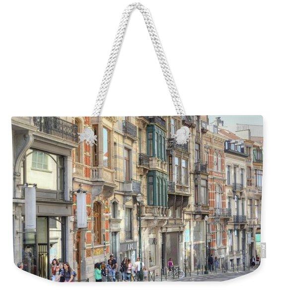 Streets Of Basel Weekender Tote Bag