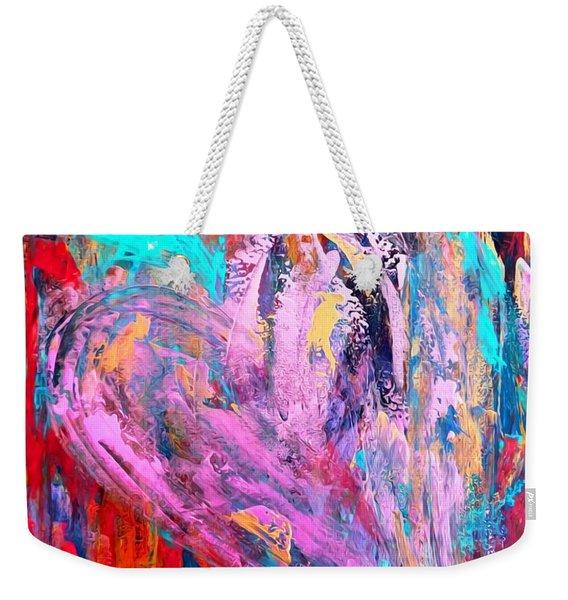 Strength Of My Heart Weekender Tote Bag
