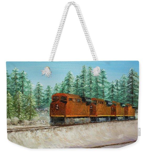 Strength Weekender Tote Bag