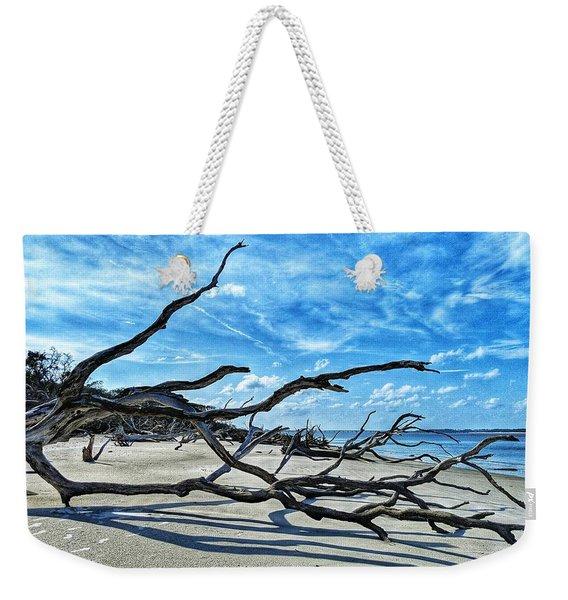 Stretch By The Sea Weekender Tote Bag