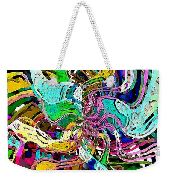 String Theory Weekender Tote Bag